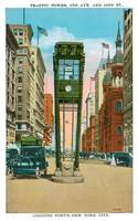 Traffic Tower, 5th Ave. and 42nd St., New York