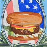 """A Patriot Burger"" by claudebuckleyfineart"