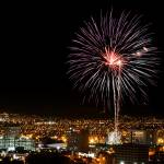 """Fireworks over Downtown El Paso"" by BrianWancho"