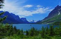 Saint Mary Lake - Wild Goose Island