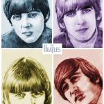 """The Beatles In COLOR!"" by DanAvenell"