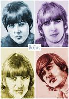 The Beatles In COLOR!