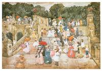 The Mall, Central Park by Maurice Prendergast
