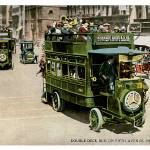 """Double Deck Bus on Fifth Avenue, New York City"" by ArtLoversOnline"