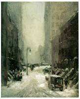 Snow in New York (1902) by Robert Henri