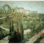 """Morningside Heights by Ernest Lawson"" by ArtLoversOnline"