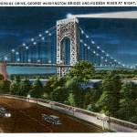 """Riverside Drive, George Washington Bridge"" by ArtLoversOnline"