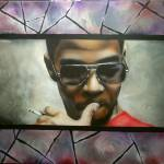 """Kid Cudi Widescreen"" by ToniMirenna"