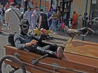 Skeleton & Rooster's Traveling Coffin, New Orleans