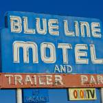 """Blue Line Motel"" by midcenturymodern"