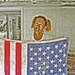 """AMERICAN FLAG New Orleans Flood, Hurricane Katrina"" by louismaistros"