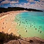 """Horseshoe Beach and the pink sands of Bermuda"" by dennisherzog"