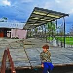 """Boy at City Park, New Orleans, Post-Katrina, Flood"" by louismaistros"