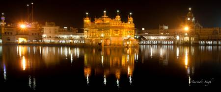 Golden Temple Pan Night