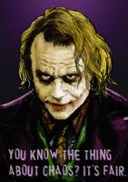 Heath Ledger as The Joker