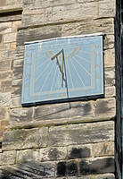 Vertical Sundial on St Mary's Church, Tutbury