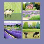 """Lavender poster"" by studiobythesound"