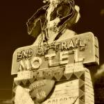 """End Of Trail Sepia"" by photographicleigh"