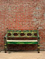 Bench And Brick
