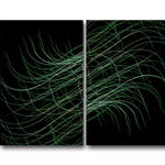 """Wind Blown Weeds-Diptych"" by joegemignani"