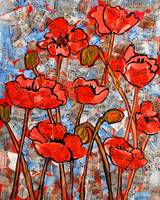 Fine Art Print of Oriental Poppies III