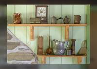 Old kitchen shelves