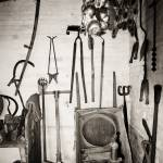 """Potting Shed Interior 1"" by gwpics"