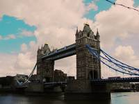 Tower Bridge Vintage Style
