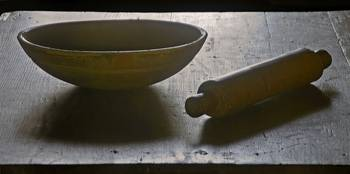 Bowl, rolling pin CLR