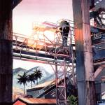 """Lahaina Sugar Mill"" by WillyDaleArt"