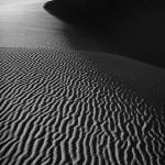 """Sand creation - black and white"" by hideakisakurai"