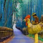 """Chicken Man"" by artstoreroom"