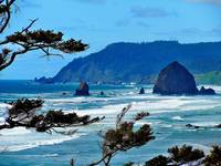 Haystack Rock, Cannon Beach, Oregon 4