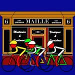 """Stage 21 Passing Shop at 6 Place de la Madeleine"" by Lonvig"