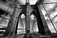 Brooklyn Bridge in Black & White