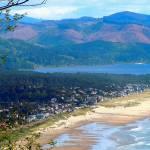 """Oregon Coast with Nehalem Bay In Background 4"" by ShaneWells"