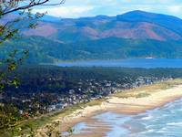 Oregon Coast with Nehalem Bay In Background 4