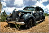 Boothill Hearse. Tombstone, Arizona