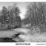 """Winter Stream"" by richszabo"