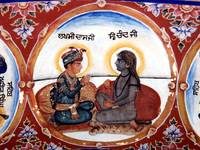 Lakhmi Das and Baba Siri Chand