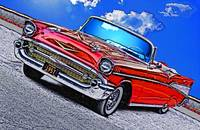1957 Chevrolet Bel Air - Red