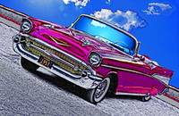 1957 Chevrolet Bel Air - Purple