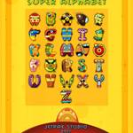 """Super Alphabet (Back Cover)"" by MikeCressy"