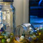 """Marbles in Barilla Jars"" by oterodesigns"