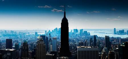 Manhattan Panorama With Empire State Building