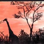 """""""Giraffe"""" by CassandraArt"""