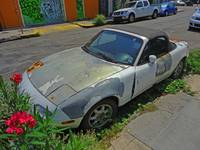 Abandoned Car in the Marigny, New Orleans