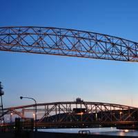 Duluth Minnesota Lift Bridge 2 by Lisa Rich