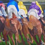 """Horse Racing"" by riverratlee"
