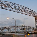 """Duluth Minnesota Aerial Lift Bridge 3"" by LJdesigns"